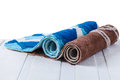 Rolled Up Of Carpets Stock Photos - 41325183