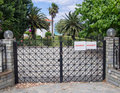 Steel Gates Royalty Free Stock Images - 41330909