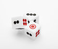 Three Dice On Table For Game Set Stock Images - 41332404