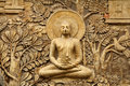 Buddha Wooden Carving Stock Image - 41351231