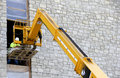 Construction Boom Lift Royalty Free Stock Image - 41355146