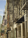 Fire Escapes, Lower East Side,  New York Stock Photo - 41370840