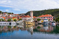 Skradin Is A Small Historic Town In Croatia Royalty Free Stock Image - 41375556