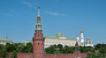 Moscow, Russia. Kremlin Wall Stock Photos - 41377093