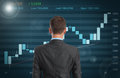 Stock Market Graph Royalty Free Stock Images - 41377209
