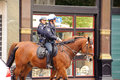Mounted Police Officers Stock Image - 41382271