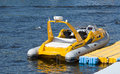 A Small Inflatable Boat Royalty Free Stock Photos - 41390188