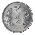 Two Indian Rupee Stock Photo - 41396790
