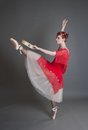 Dancer With A Tambourine Royalty Free Stock Image - 41437506