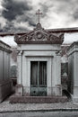 Abandoned Cemetery Chapel Royalty Free Stock Images - 41443509