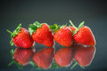 Ripe Red Strawberries Stock Photography - 41444242