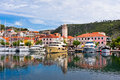 Skradin Is A Small Historic Town In Croatia Royalty Free Stock Image - 41447456