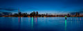 Toronto Skyline Panorama Over Lake Stock Photos - 41487223