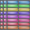 Colored Web Buttons Royalty Free Stock Photography - 41495407