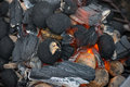 Barbecue Charcoal Stock Image - 41501131