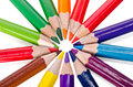 Beautiful Multi-colored Pencils Stock Images - 41504214