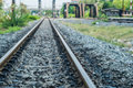 Old Railroad Track With The Bridges Royalty Free Stock Photo - 41507755