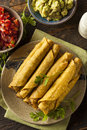 Homemade Mexican Beef Taquitos Stock Photography - 41513342