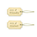 Eco Tags Set 1.4 Stock Photo - 41522600