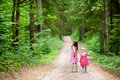 Two Cute Little Sisters Outdoors Royalty Free Stock Images - 41527759