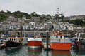 Fishing Harbour Of Newlyn. Cornwall, England, UK Royalty Free Stock Photos - 41528828