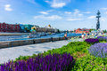 Promenade Embankment Of Moscow River Royalty Free Stock Photo - 41530425