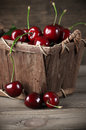 Cherries In Basket Royalty Free Stock Images - 41533029