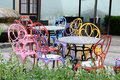 Colourful Chairs Royalty Free Stock Photography - 41535627
