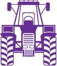 Tractor Vector Front Royalty Free Stock Images - 41538029