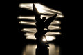 Angel Silhouette Royalty Free Stock Images - 41548049