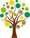 Vector Colorful Bubbles Tree Stock Images - 41558844