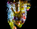 Abstract Grapes In Water Stock Photography - 41561952