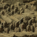 The Terracotta Army Stock Images - 41568964