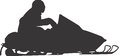 Snowmobile Vector Design Clipart Royalty Free Stock Photography - 41570827