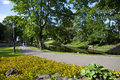 Bastion Hill Park In Riga Stock Image - 41581821
