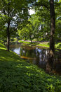 Bastion Hill Park In Riga Royalty Free Stock Photography - 41582397