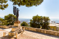 Monuments And Sculptures Greece, Chania, Crete.Traditional Pictorial Street Stock Photo - 41584050