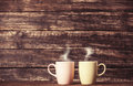 Two Cups Of Coffee Stock Photo - 41593240