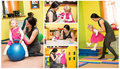 Mother And Child Girl Playing In Kindergarten In Montessori Preschool Royalty Free Stock Photography - 41599747