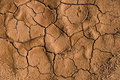 Dried And Cracked Ground Stock Image - 4162171
