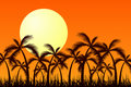 Tropic Sunset Stock Photography - 4166362
