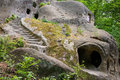 Old Cave Monastery In The Forest Royalty Free Stock Images - 41616869