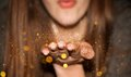 Blowing Glitter Stock Images - 41622154