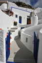 Classical Greek Architecture, Blue And White - Santorini Royalty Free Stock Photo - 41645545