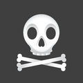 Skull And Crossbones Royalty Free Stock Photography - 41671797