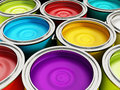 Paint Cans Royalty Free Stock Image - 41677216