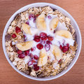 Muesli With Berry, Close Up Stock Photography - 41678472