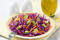 Red Cabbage Salad Stock Photography - 41685902