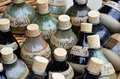 Large Number  Of Spell Bottles Royalty Free Stock Images - 41694079