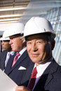 Businessmen Inspecting Construction Site Stock Photo - 41711750